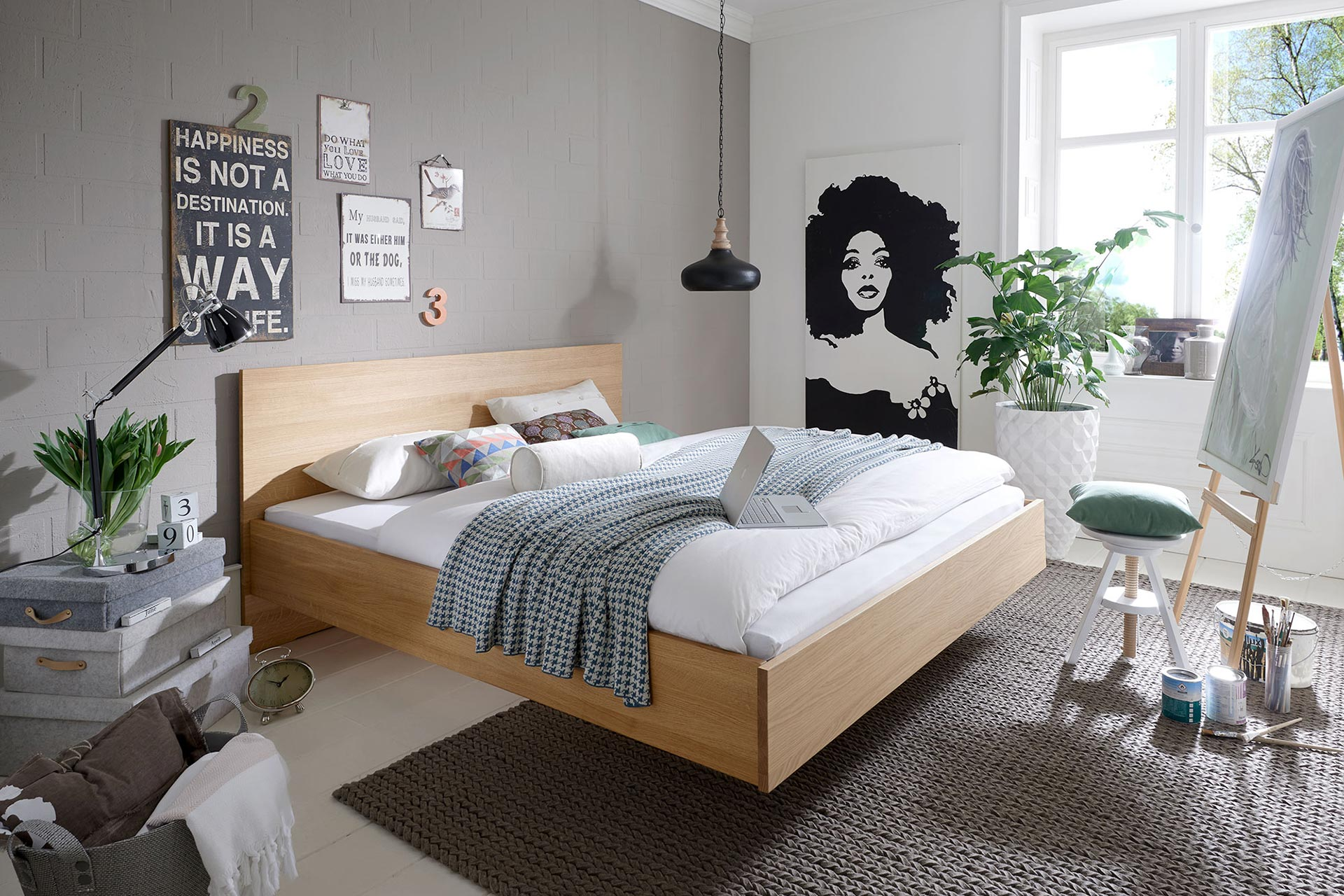 bett asta kohler nat rlich einrichten naturholzm bel. Black Bedroom Furniture Sets. Home Design Ideas