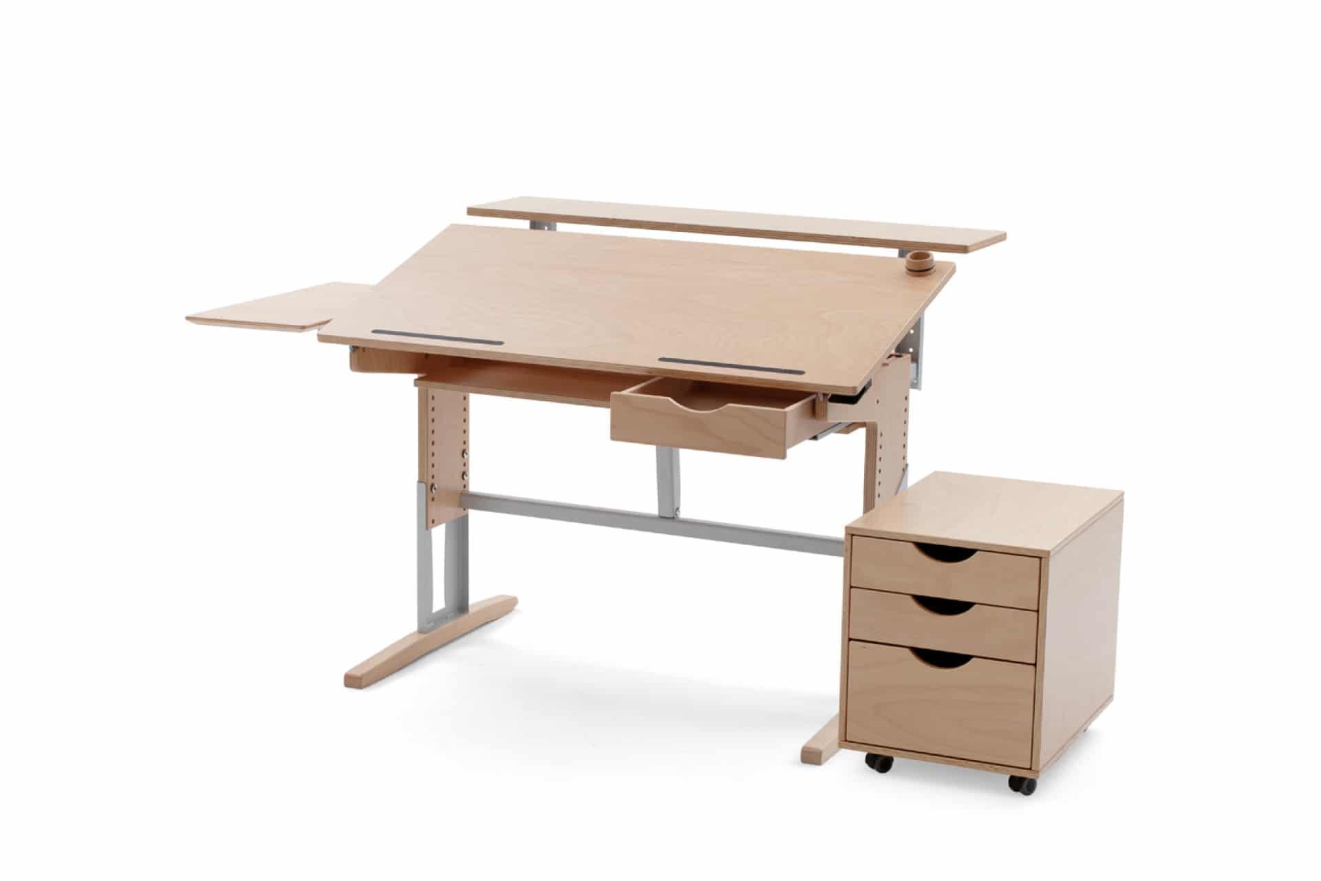 kinder und jugendschreibtisch m17 kohler nat rlich einrichten naturholzm bel team 7. Black Bedroom Furniture Sets. Home Design Ideas