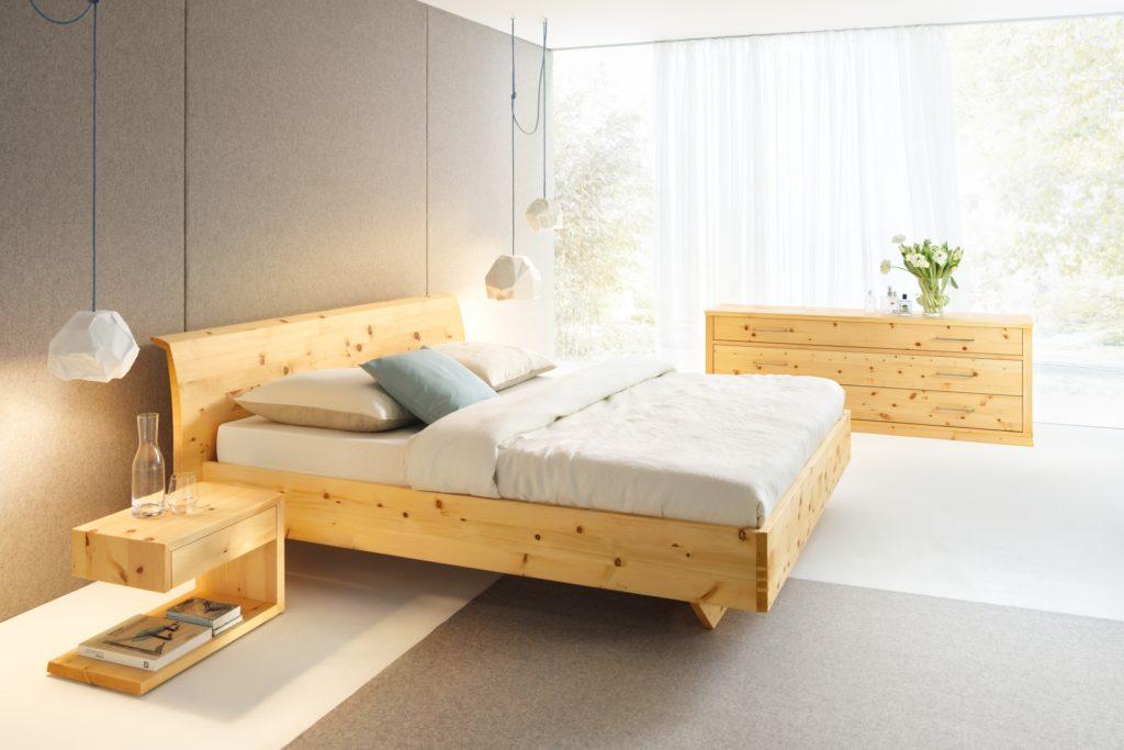 Schlafzimmer Rio in Zirbe