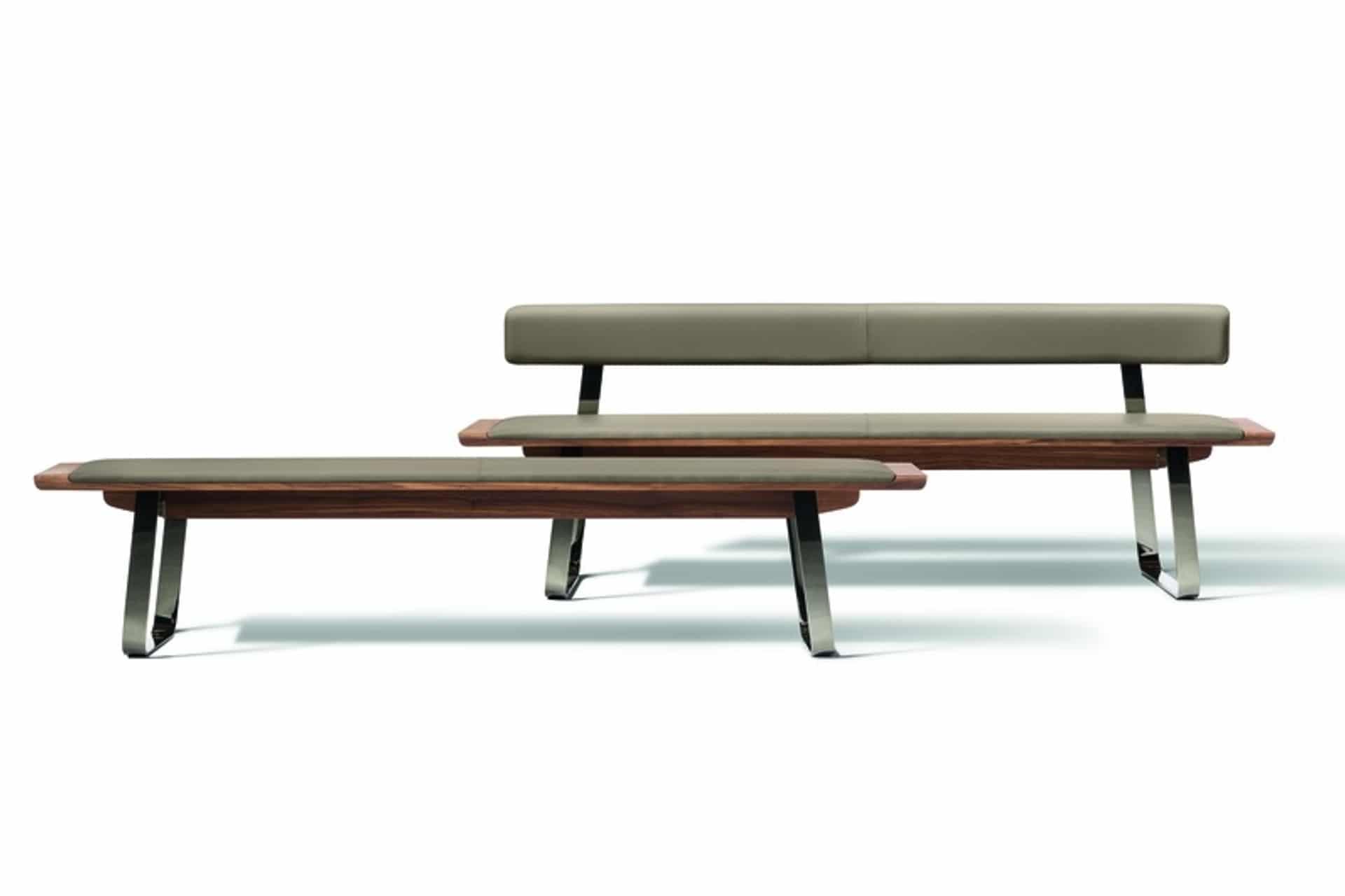 bank nox mit metallkufen kohler nat rlich einrichten naturholzm bel team 7 naturm bel. Black Bedroom Furniture Sets. Home Design Ideas