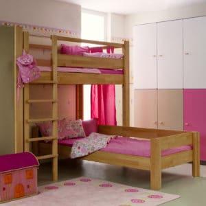 hochbett natur ge lt kohler nat rlich einrichten naturholzm bel team 7. Black Bedroom Furniture Sets. Home Design Ideas