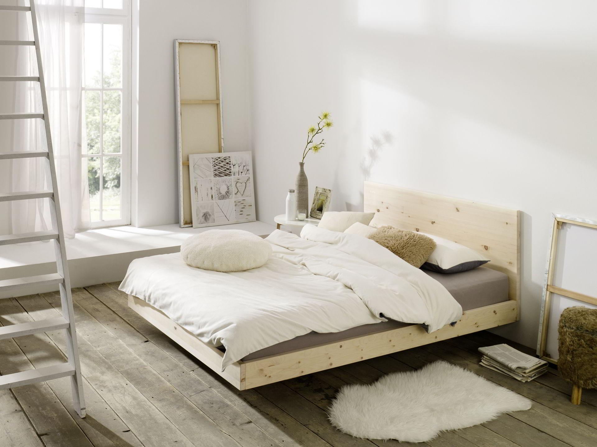 Doppelbett Nido in Zirbe