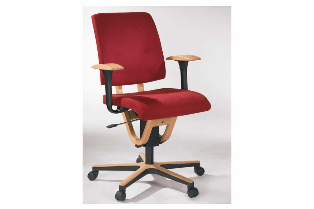 ergonomischer Bürostuhl M21 mit Armlehnen