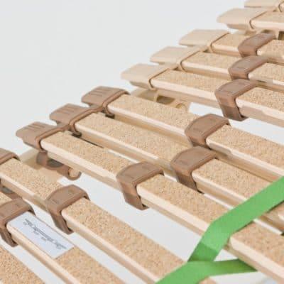 Lattenrost BeneVita Trio Premium mit 42 Buche-Federholzleisten