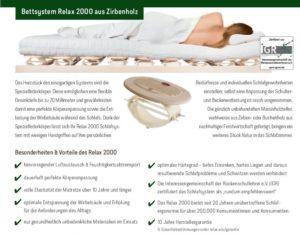 Beschreibung Relax 2000